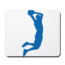 Slam Dunk Blue Mousepad
