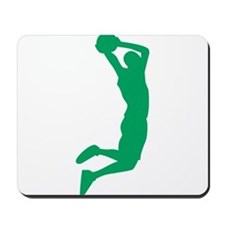 Slam Dunk Green Mousepad
