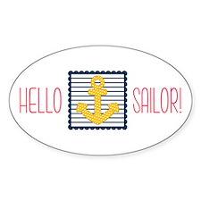 Hello Sailor Decal