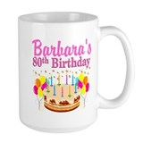 80 birthday Large Mugs (15 oz)