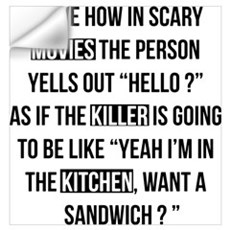 Movies Killer Kitchen Wall Decal