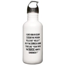 Movies Killer Kitchen Water Bottle
