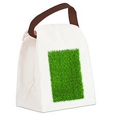 Grass Canvas Lunch Bag