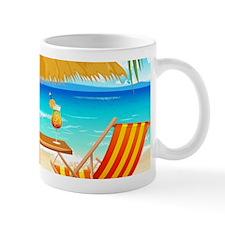Beach Scene Mugs