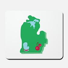 State Of Michigan Mousepad
