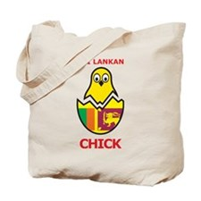 Sri Lankan Chick Tote Bag