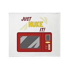 Just Nuke It! Throw Blanket