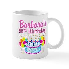 85 YR OLD DIVA Small Mugs