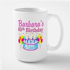 85 YR OLD DIVA Large Mug