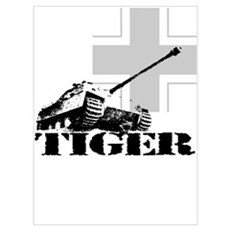 tiger tank Jagdpanzer V Poster