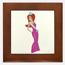 Beauty Queen Framed Tile