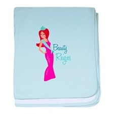 Beauty Reigns baby blanket