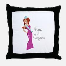Grace & Gorgeous Throw Pillow