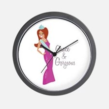 Grace & Gorgeous Wall Clock