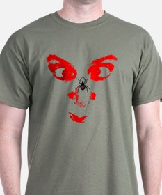 spider on face T-Shirt