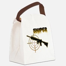 american sniper Canvas Lunch Bag