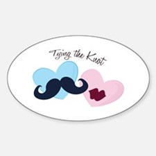 Tying the Knot Decal