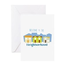 Neighborhood Welcome Greeting Cards