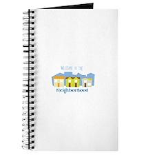 Neighborhood Welcome Journal