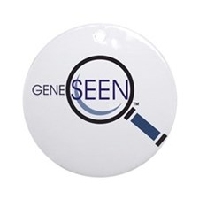 Gene Seen Ornament (Round)