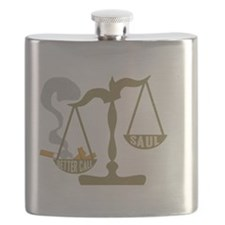 Justice Scales Ashtray Better Call Saul Flask