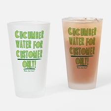 Cucumber Water Better Call Saul Drinking Glass