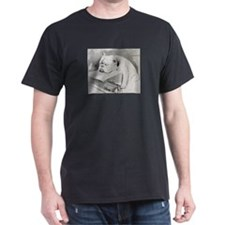 Bulldog at Cruft's Dog Show 1928 T-Shirt