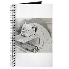 Bulldog at Cruft's Dog Show 1928 Journal