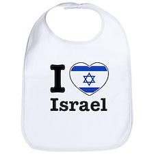 I love Israel Bib