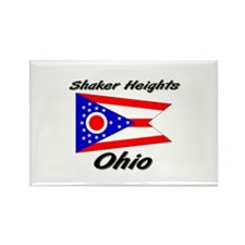 Shaker Heights Ohio Rectangle Magnet