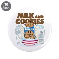 """Milk_and_cookies.png 3.5"""" Button (10 pack)"""
