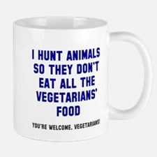 Vegetarians' Food Mug