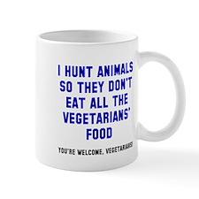 Vegetarians' Food Mug