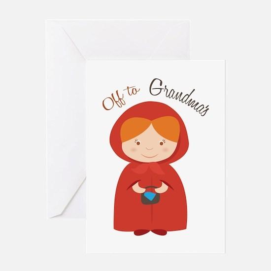 Off to Grandmas Greeting Cards
