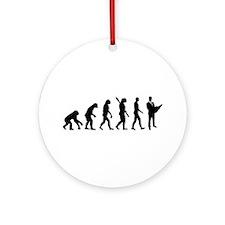 Evolution Architect Ornament (Round)