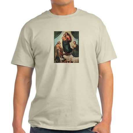 Sistine Madonna Light T-Shirt
