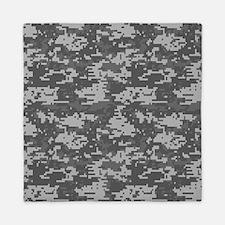 digital military camouflage Queen Duvet