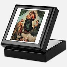 Sistine Madonna Keepsake Box