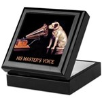 VINTAGE DOG ART: RCA DOG Keepsake Box