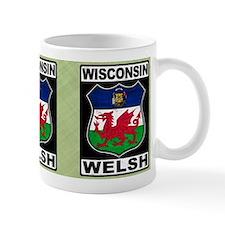 Wisconsin Welsh American Mugs