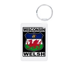 Wisconsin Welsh American Keychains