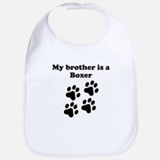 My Brother Is A Boxer Bib