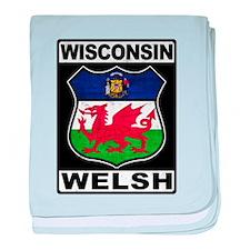 Wisconsin Welsh American baby blanket