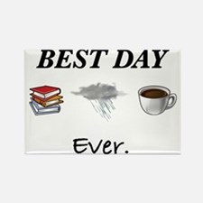 Best Day Ever Rectangle Magnet