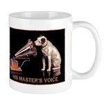 VINTAGE DOG ART: RCA DOG Mug