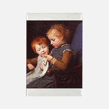 Little Knitters Rectangle Magnet (100 pack)