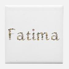 Fatima Seashells Tile Coaster