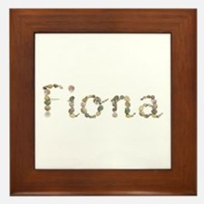 Fiona Seashells Framed Tile