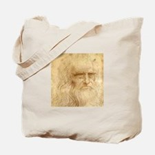 Leonardo Da Vinci Tote Bag