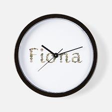 Fiona Seashells Wall Clock